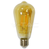 Led Filament Amber Cover E27 4W